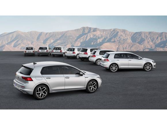 Nuevo Volkswagen Golf 2020: motores, equipamientos y fotos oficiales