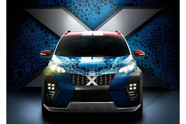Segunda generación del Kia X-Car: el Sportage inspirado en Mística