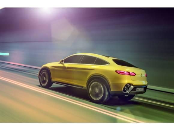 Mercedes GLC Coupé Concept: el futuro rival del BMW X4