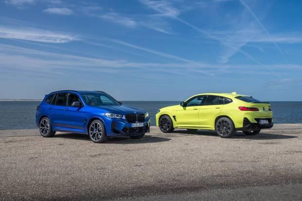 Nuevos BMW X3 M Competition y X4 M Competition: nuevo diseño y más par