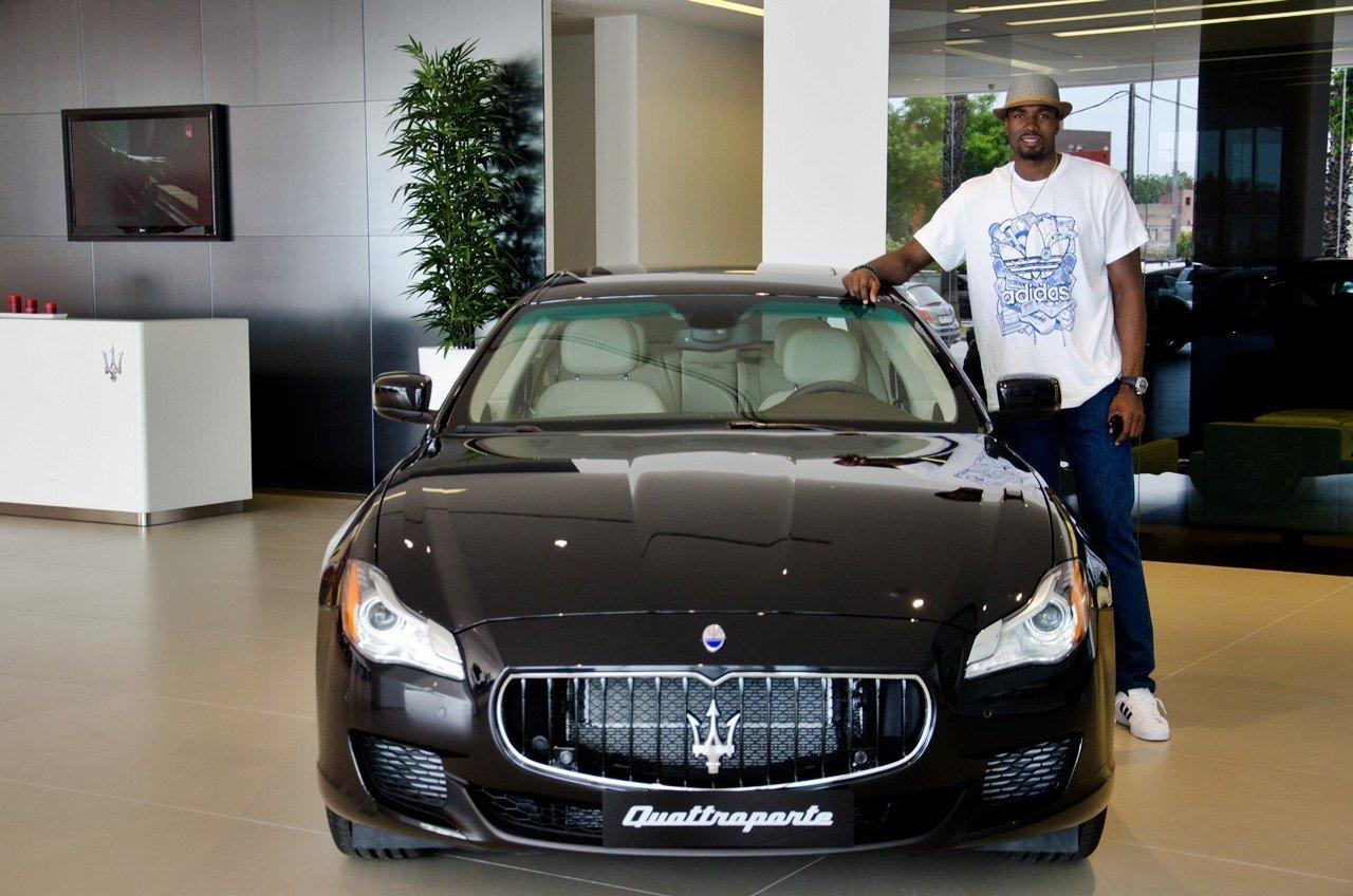 Maserati Quattroporte GTS - Serge Ibaka