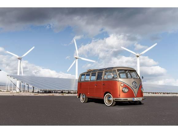 Nuevo e-Bulli: Volkswagen adapta el clásico para ser eléctrico