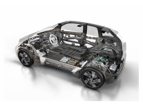 BMW i3: fotos y datos oficiales del nuevo coche eléctrico de BMW