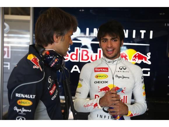 Carlos Sainz Jr. estará en los test finales de Abu Dhabi con Red Bull