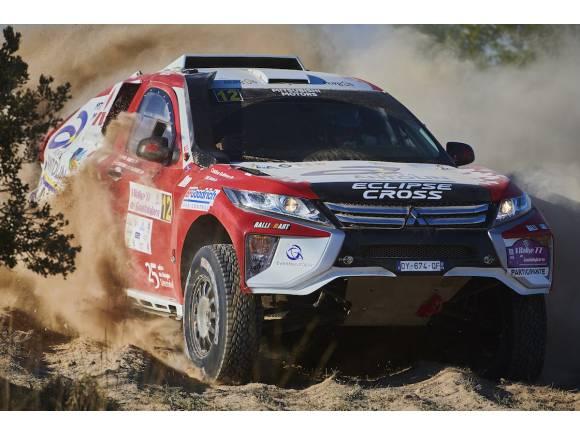 Cristina Gutiérrez Mitsubishi Eclipse Cross Dakar 2019