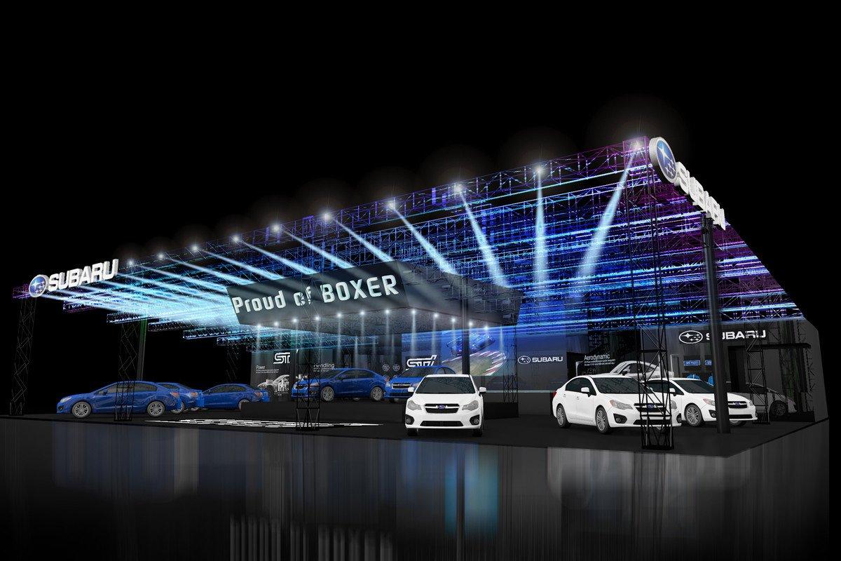 Subaru Salon Tokio 2016