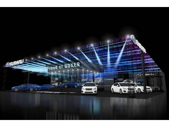 Subaru prepara un stand muy deportivo para el Salón de Tokio 2016