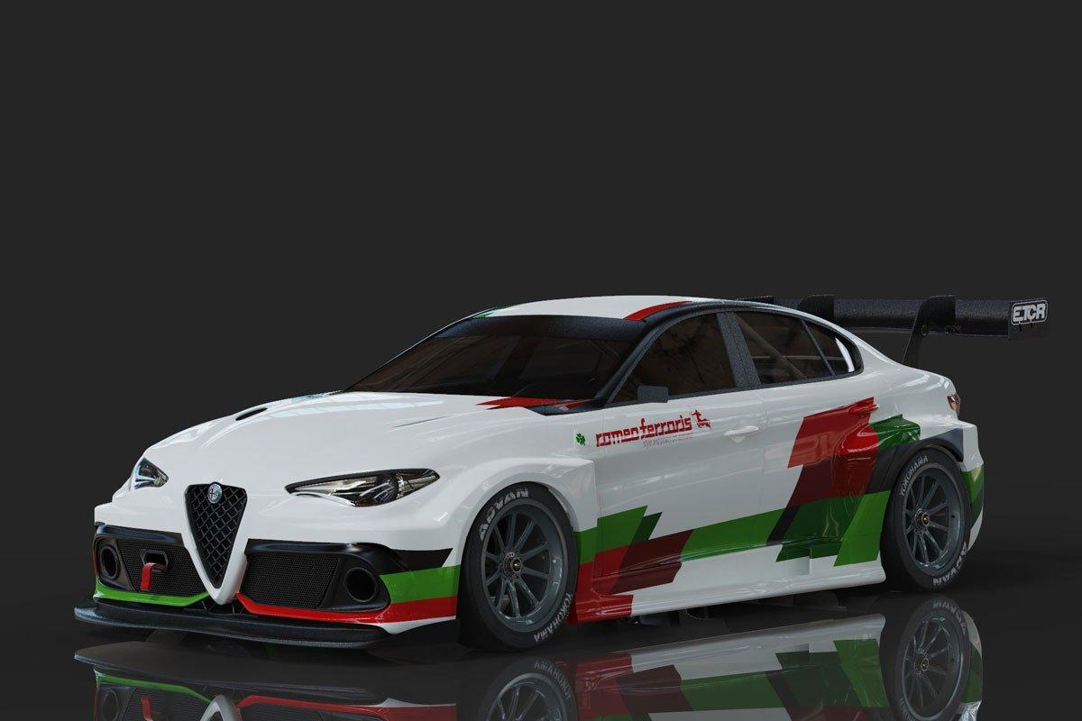 Alfa Romeo Giulietta ETCR