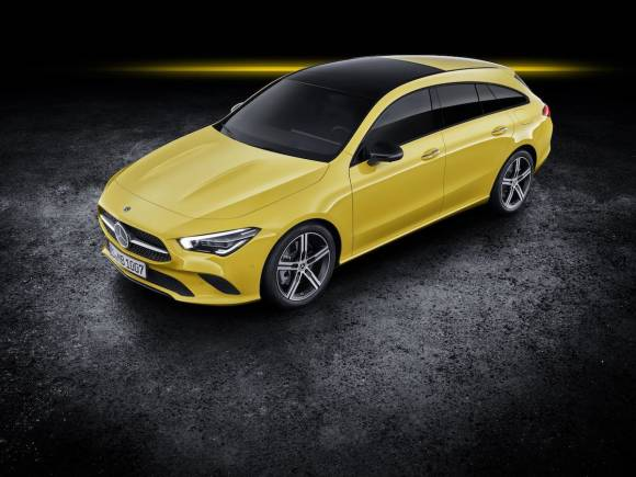 Nuevo Mercedes CLA Shooting Brake, del familiar deportivo