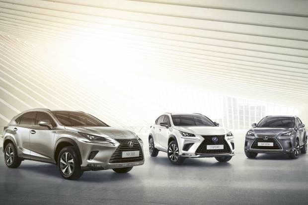 El Lexus NX estrena novedades para 2020