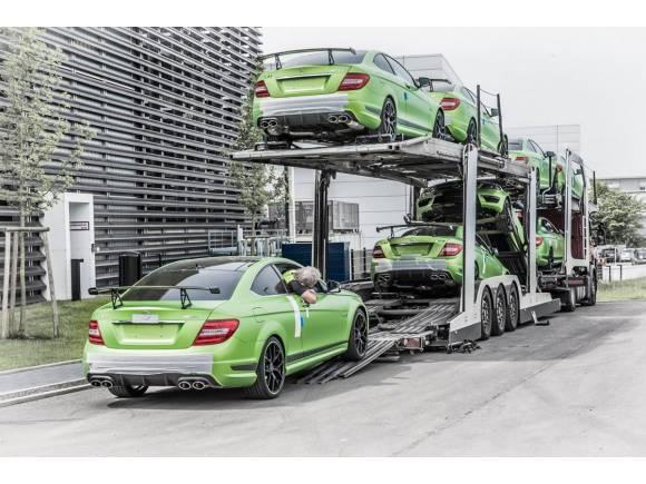Mercedes fabrica 10 unidades del C63 AMG Legacy Edition para Sudáfrica