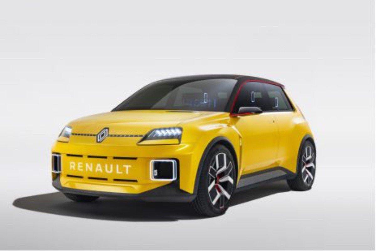 La empresa Renault resurge con su icónico R5 en formato eléctrico
