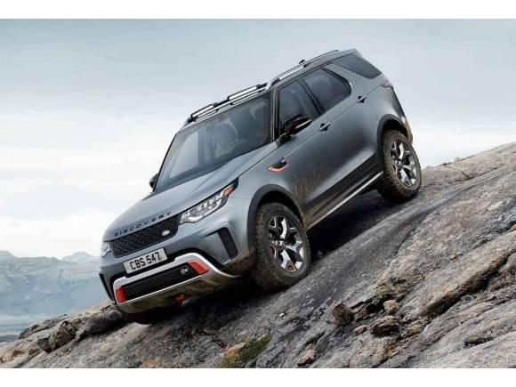 Nuevo Land Rover Discovery SVX de 525 CV