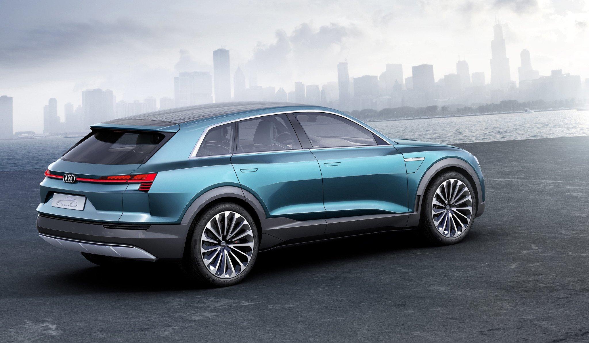 Audi electrico deportivo