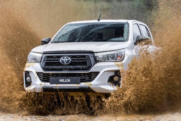 Novedades para el Toyota Hilux: modificaciones en el motor y acabado Legend Black