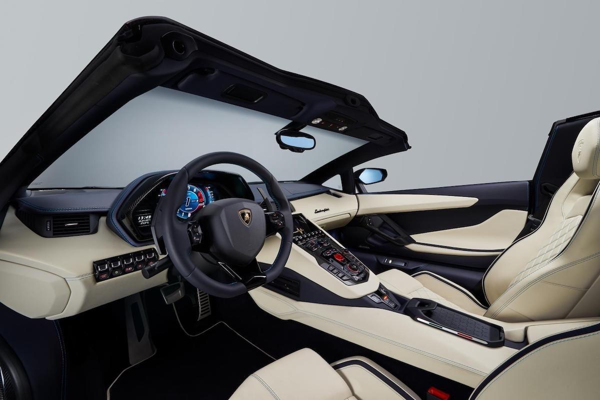 lamborghini aventador s roadster  descapotable de 740 cv