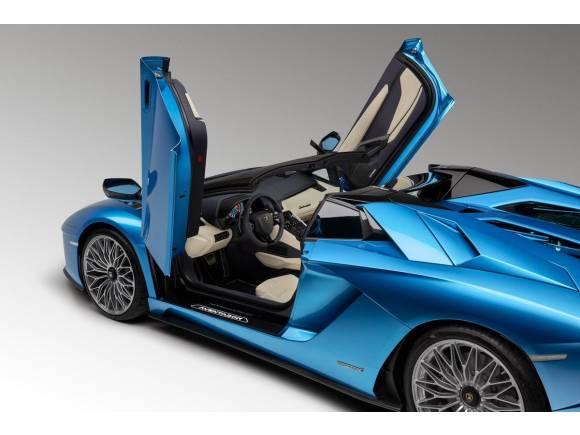 Lamborghini Aventador S Roadster, descapotable de 740 CV