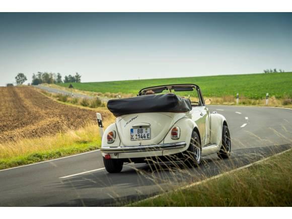 Convertir un Volkswagen Beetle clásico en eléctrico ya es posible
