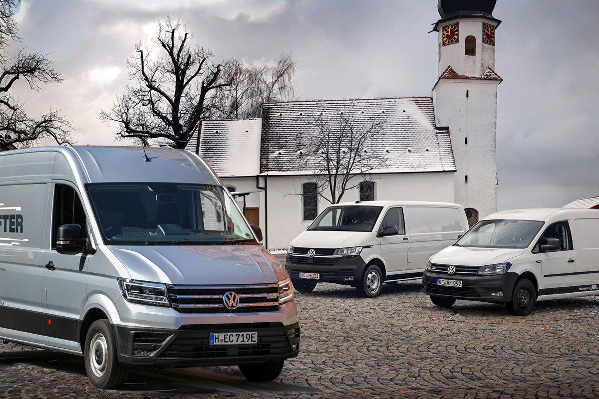 Volkswagen comerciales eléctricos