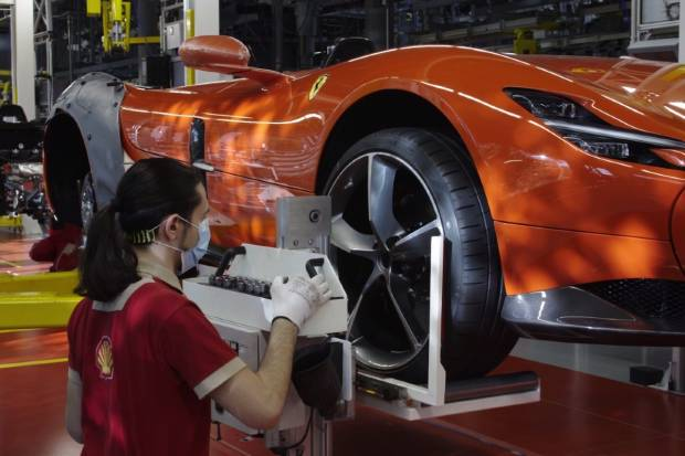 Ferrari vuelve al trabajo tras el parón por el coronavirus