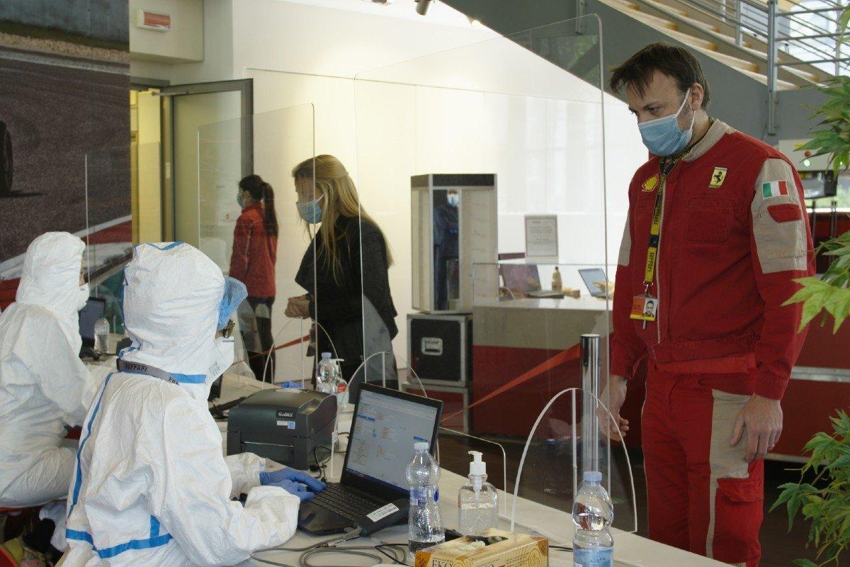 Ferrari coronavirus