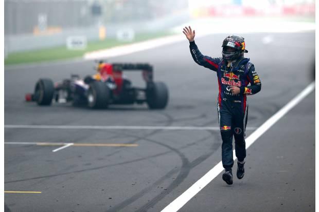 Fórmula 1 2013. Gran Premio de la India. Vettel; cuatro veces Campeón del Mundo