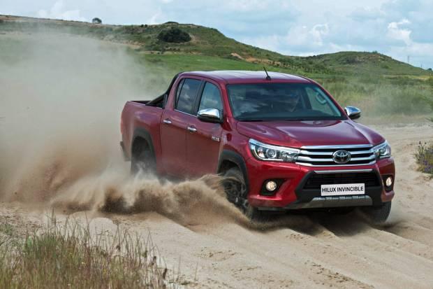 Toyota Hilux Invincible, nuevo acabado para el pick-up