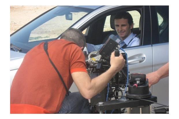 Vídeo: De la Rosa a los mandos del nuevo Mercedes Clase C