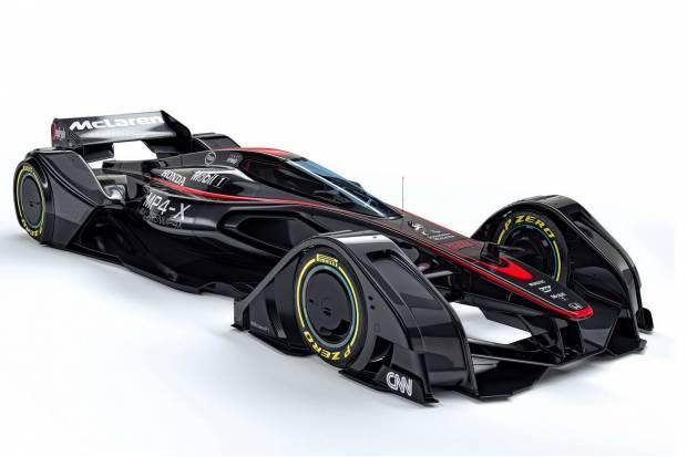 McLaren MP4-X: el F1 que NO le gustaría conducir a Fernando Alonso