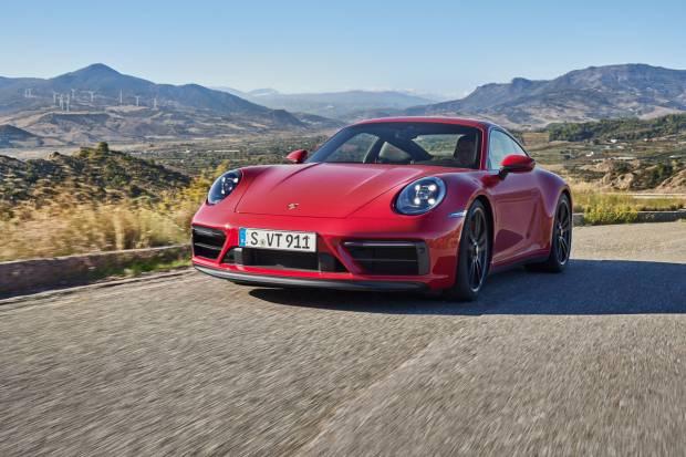 Nuevos Porsche 911 GTS: en Coupé, Cabriolet y Targa