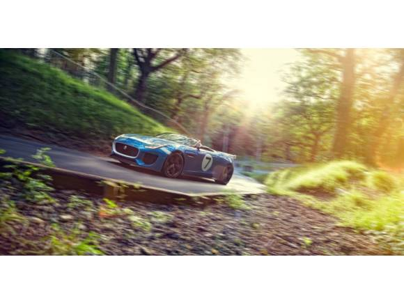 Jaguar Project 7, un Jaguar F-TYPE especial para Goodwood