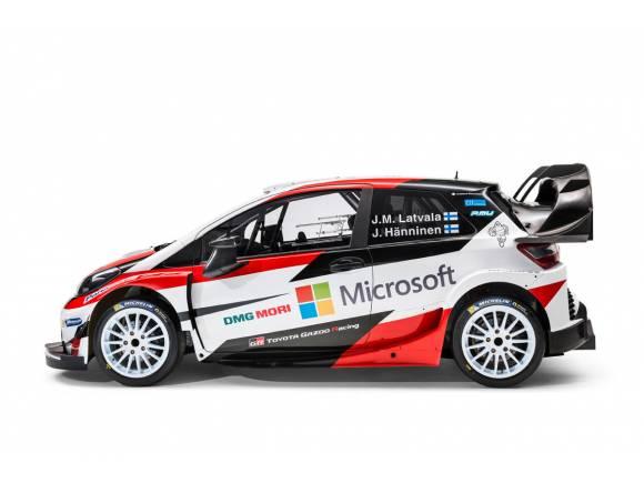 Toyota está de vuelta, así es el nuevo Yaris WRC