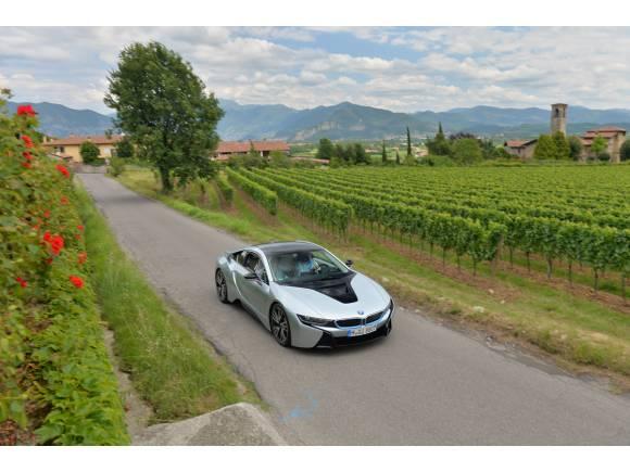 Prueba BMW i8: el deportivo híbrido enchufable de BMW