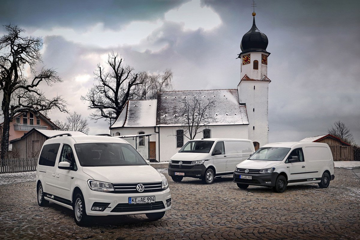 Volkswagen e-Caddy e-Transporter ABT