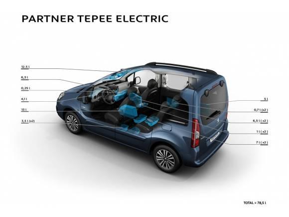 El Peugeot Partner Tepee se pasa al lado eléctrico