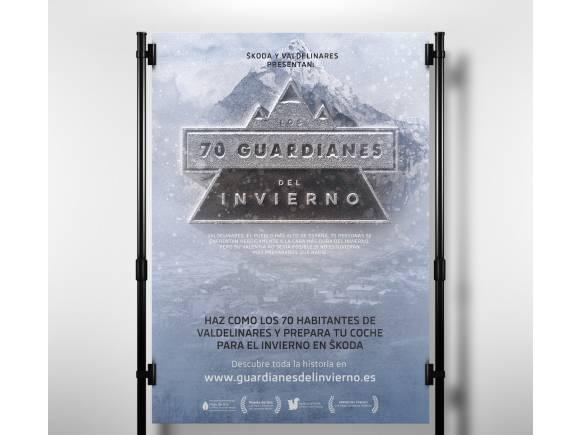 """Skoda presenta """"Los 70 guardianes del invierno"""""""