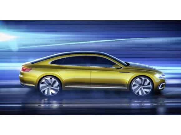 Volkswagen Sport Coupé GTE: el anticipo del nuevo Volkswagen CC