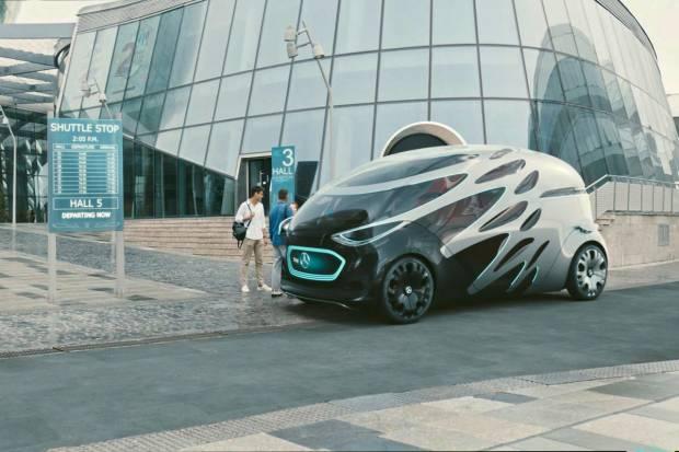 Mercedes Vision Urbanetic: otra idea para el futuro del automóvil