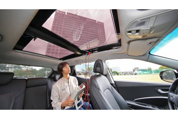 Placas solares para los Hyundai eléctricos, híbridos y de gasolina