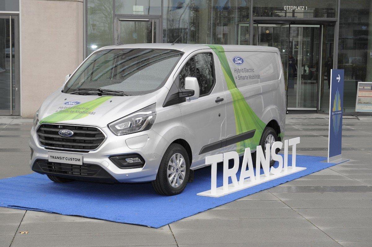 Ford Transit Custom híbrida enchufable
