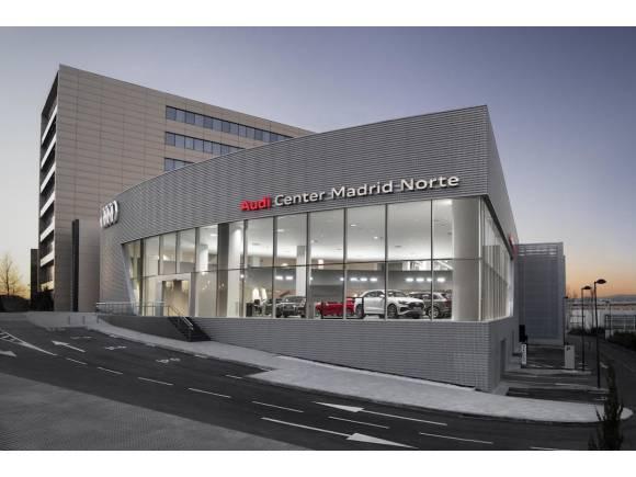 El concesionario tecnológico, Audi Center Madrid Norte