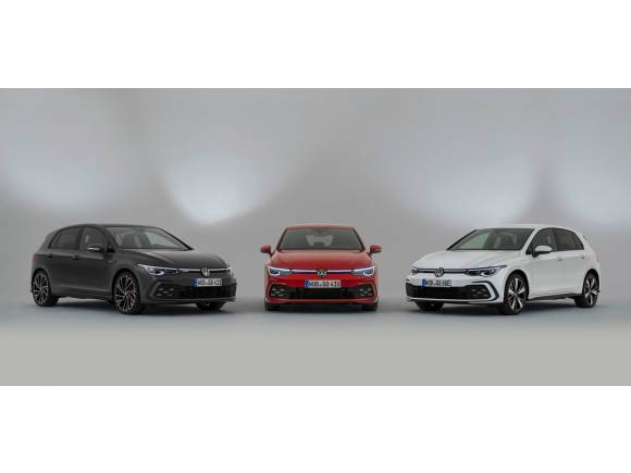 Volkswagen Golf 8: así son las versiones deportivas GTI, GTE y GTD