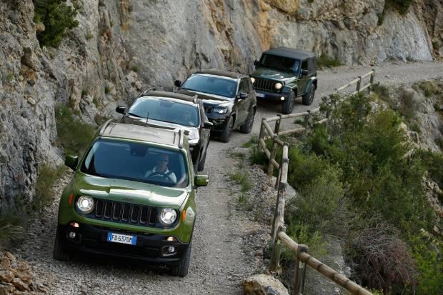 Toma de contacto de la gama 75 Aniversario de Jeep