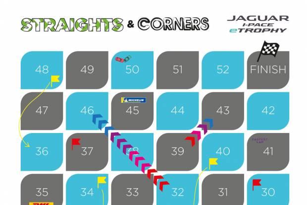 Straights and Corners, el juego de mesa de Jaguar para toda la familia