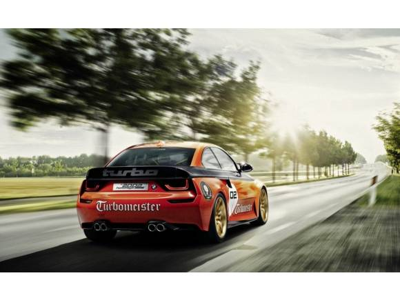 BMW 2002 Hommage: tributo a su primer Turbo en Pebble Beach