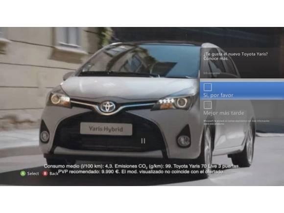 Interactúa con el nuevo Toyota Yaris en Xbox Live