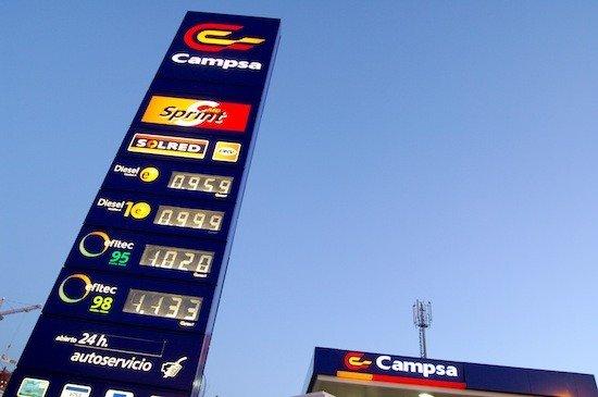 Los precios de la gasolina y el di sel vuelven a subir for Gasolina barata tenerife