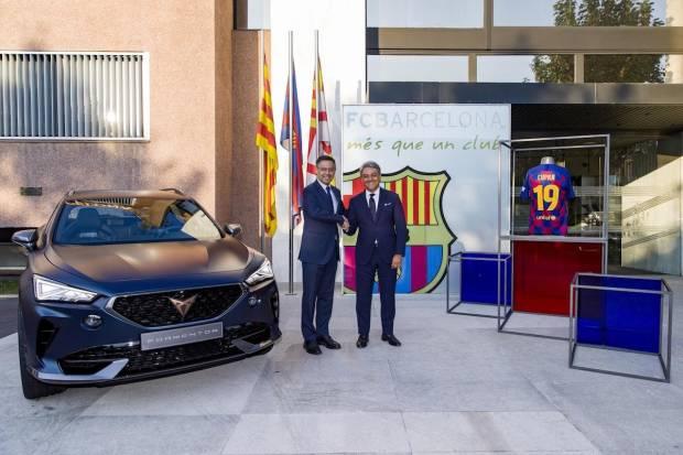 Cupra, nuevo coche oficial del FC Barcelona