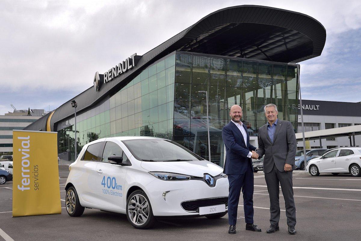 Renault ZOE alquiler Madrid