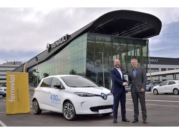 Nuevo carsharing en Madrid con el Renault ZOE
